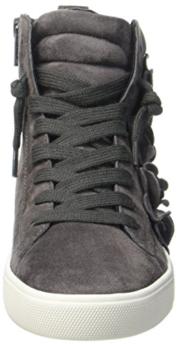 Kennel und Schmenger Schuhmanufaktur Town, Sneaker a Collo Alto Donna Grau (Slate/Asfalto Sohle Weiss)