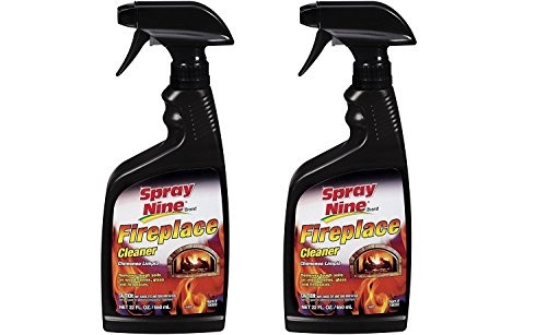 Spray Nine 15022 Fireplace Cleaner, 22 oz. 2 Pack by Spray Nine