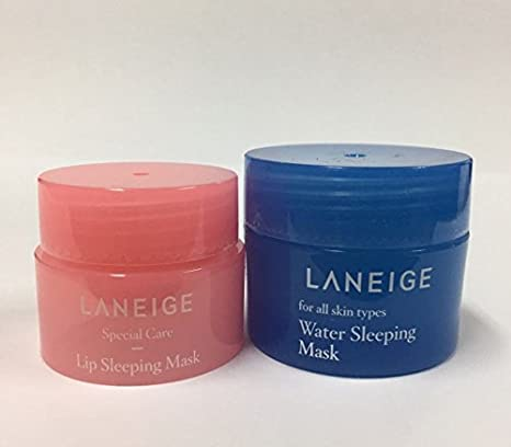 Laneige Water Sleeping Mask & Lip Sleeping Mask by Laneige