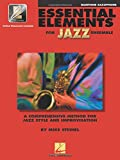 Essential Elements For Jazz Baritone Sax Bk/Online Audio