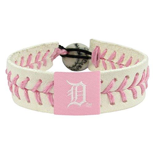GameWear Detroit Tigers Bracelet Baseball Pink