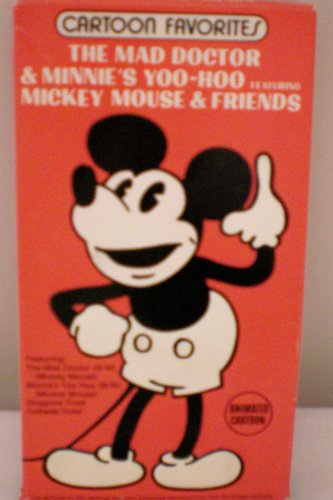 - Cartoon Favorites--The Mad Doctor & Minnie's Yoo-Hoo Featuring Mickey Mouse & Friends, Doggone Tired, Cobweb Hotel -- Animated Cartoon