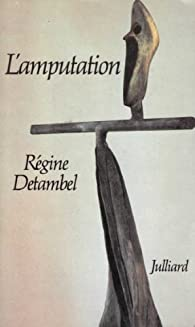 Book's Cover ofL'amputation