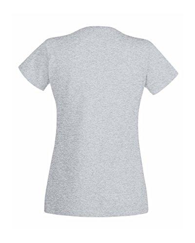 Fruit of the Loom - T-shirt -  Femme Rose Rose clair