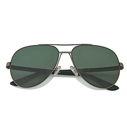 Playa Polarizado Confort Verde LANZHI Avant Military Personalidad Garde green Gafas de Pilotos Sol Conducir Militar Chic Hombre Deportes Clásico Retro Personalidad BgXvwq