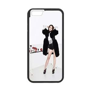 iPhone 6 4.7 Inch Phone Case Black Hf Iu Kpop Girl Music Sexy QT1Z6FFL Rubber Cell Phone Cases