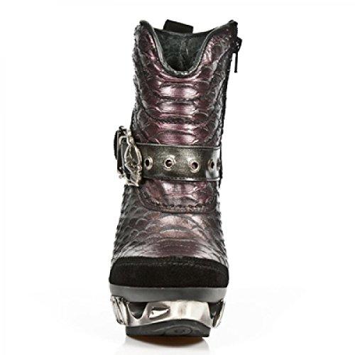 Nuovi Stivali Da Roccia M.mag014-c1 Gotico Hardrock Punk Damen Stiefelette Schwarz