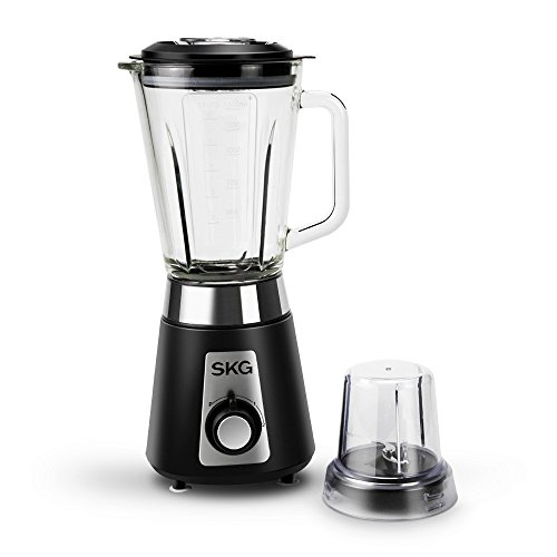 SKG Professional Blender/Mixer personal 1500ml glass jar 2 Speeds with HIGH/LOW ()