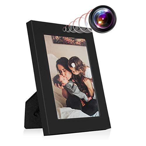 MAGHO Hidden Picture Frame Camera Home Security Spy Camera Photo Frame, Mini Video Camcorder for Home and Office