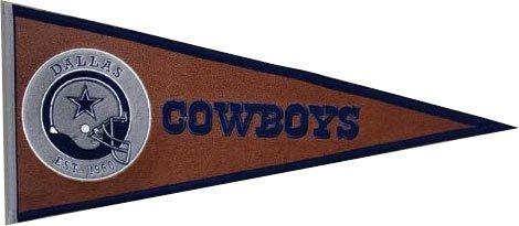Winning Streak NFL Dallas Cowboys Pigskin Pennant ()