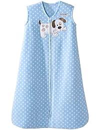 Blue Dot Puppy Sleepsack Wearable Baby Blanket,...
