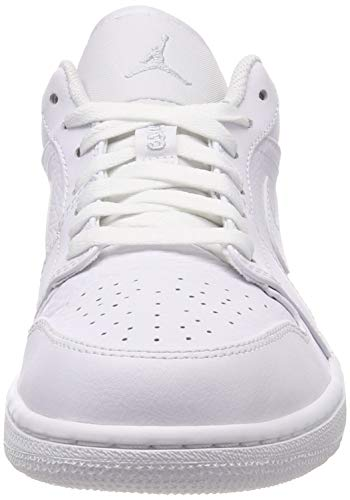 Multicolore 1 Low Air Chaussures Jordan Platinum white White Basketball 109 de NIKE Pure Homme xa86wWd