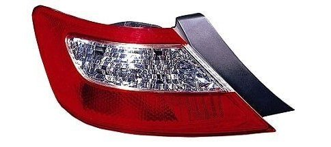 Honda Civic 2 Door Tail (06 07 08 Honda Civic 2 Door Coupe Only Driver Taillight Taillamp)