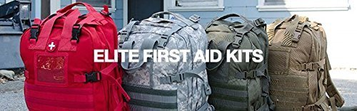 Elite First Aid Stomp Medical Back Pack - 2 Pack Deal (Red) by Elite First Aid