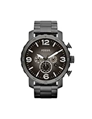 Fossil Men's JR1437 Nate Stainless Steel Watch