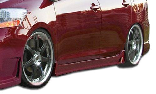 (Duraflex 103393 2007-2011 Toyota Yaris 4DR Duraflex B-2 Side Skirts Rocker Panels - 2)