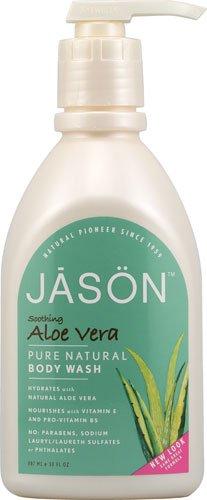 Jason Body Wash Soothing Aloe Vera Pure Natural -- 30 fl oz