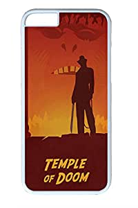 Iphone 6 Plus Case, Ij Temple Of Doom Design PC Black Case for Iphone6 Plus 5.5inch