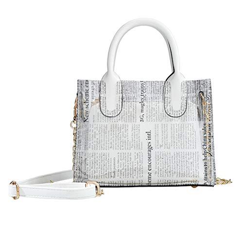PVC Leopard Print Transparent Bag For Women NEW Fashion Female Handbags Clear Shoulder Bags Purse Beach Bag (Tasseled Satchel Handbag)