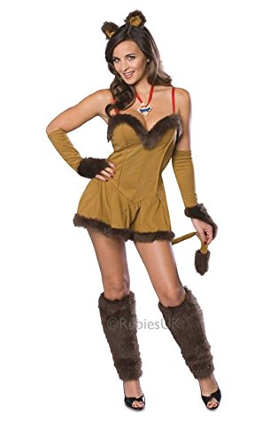 Cowardly Lion Plus Size Costume (Cowardly Lioness Costume - Small - Dress Size)
