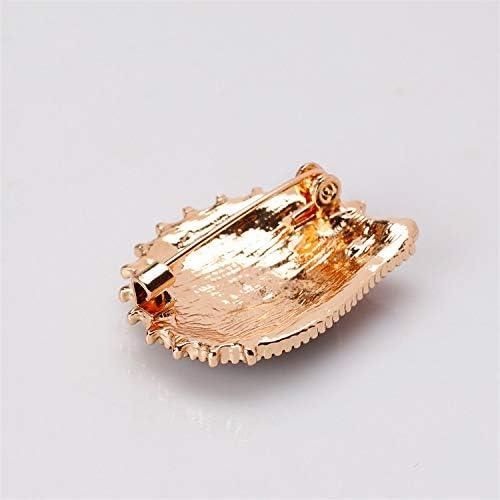 Mrsrui Fashion Natural Animal Enamel Brooches Squirrel Swan Bird Alloy Pins Vintage Jewelry for Women