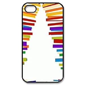 Customized Durable Case for Iphone 4,4S, Christmas Tree Phone Case - HL-498751