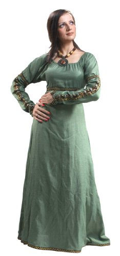 Medieval Renaissance Forest Princess Dress (Forest Princess Dress)