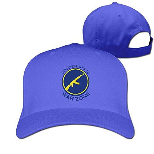 Golden State Warzone RoyalBlue Adjustable Baseball Hats For Man Woman -