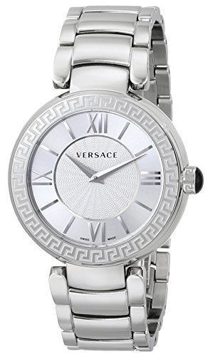 Versace Women's VNC030014 Leda Stainless Steel Watch