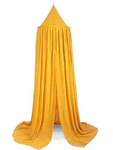 Jollein 002-005-65316 Vintage Moskitonetz Betthimmel senfgelb ocker 245x420 cm