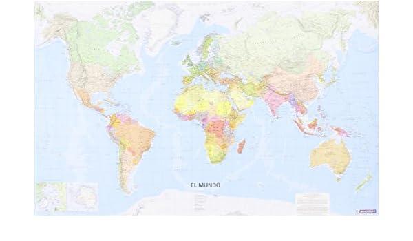 Mapa en tubo El Mundo pequeño formato Mapas en tubo y plastificados Michelin: Amazon.es: Vv.Aa, Vv.Aa: Libros