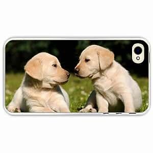 iPhone 4 4S Black Hardshell Case grass Transparent Desin Images Protector Back Cover
