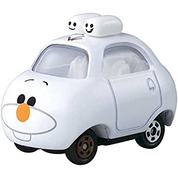 Takaratomy Tomica Disney Motors Tsum Tsum DMT-02 Mini Car Figure with Top, Olaf
