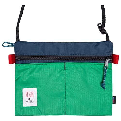 Topo Designs Accessory Shoulder Bag - Navy/kelly