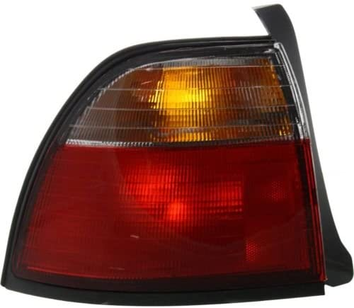 ACCORD 96-97 TAIL LAMP LH Outer Lens and Housing Exc Wagon