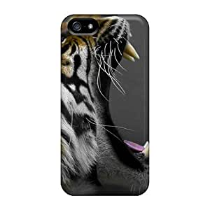 Slim Fit PC Protector Shock Absorbent Bumper Tiger Canines Animals For SamSung Note 4 Phone Case Cover
