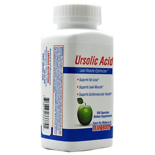 Labrada Nutrition Ursolic Acid - 120 Capsules