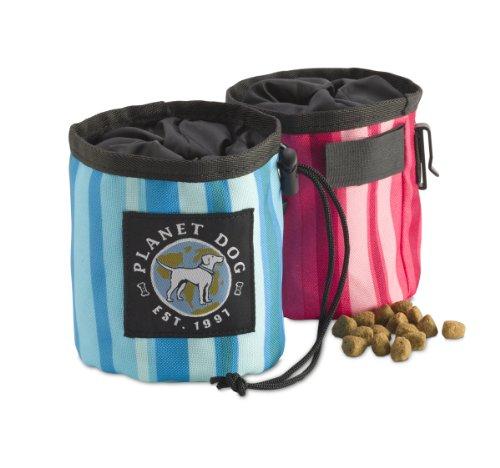 Planet Dog Sunset Snack Sack, Pink, My Pet Supplies