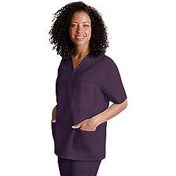 Adar Uniforms Discounted Universal Comfy 3 Pocket Unisex V-neck Tunic Top - 601 - EGP - 3X