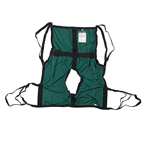 Sling One-Piece.Commode w/Positioning Strap - Piece Medical One Drive