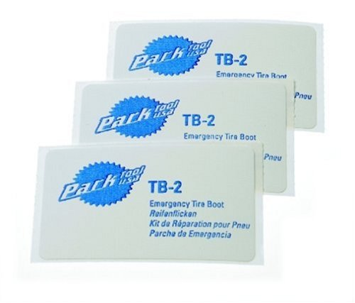 Park Tool TB-2 Emergency Tire Boot (Pack of 3) (Bike Repair Tools Park)