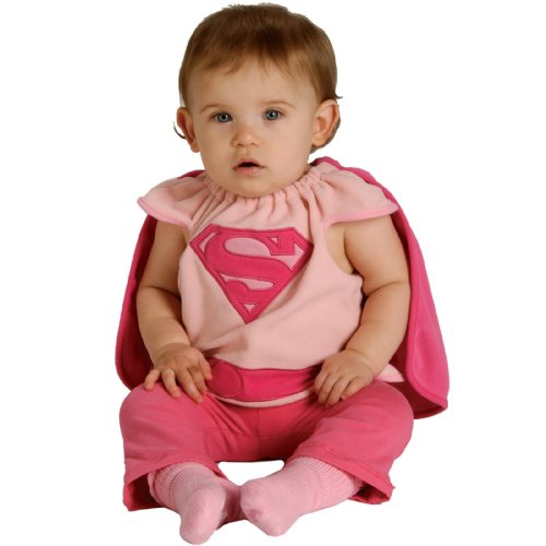 Rubie's Costume Co Baby Girl's DC Superheroes Supergirl