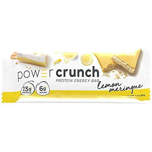 Bionutritional Research Group Power Crunch Protein Energy Bar, Lemon Meringue, 20 Count (Lemon Meringue, 20 Count) ()