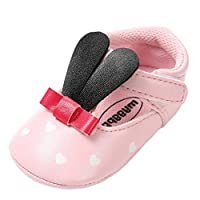Tronet Baby Shoes, Toddler Girls Rabbit Ears Fashion Toddler First Walkers Non-Slip Kid Shoes