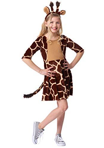 Girl's Giraffe Costume Medium ()