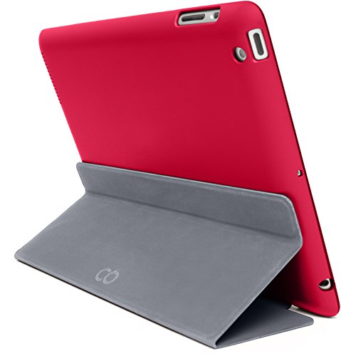 c6 MagneFix Etui für Apple iPad Air 2 rot/graphite