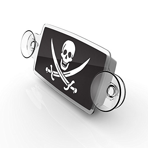 AutoBoxClub Jolly Roger - New EZ Pass, IPass Tag - Import It All