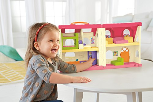 41aaJ7H8e4L - Fisher-Price Little People Surprise & Sounds Home Playset