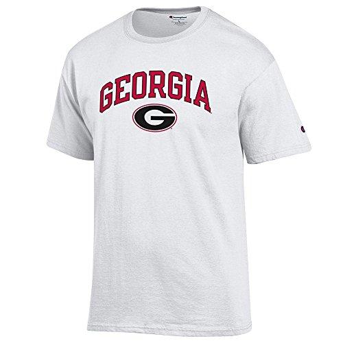 Xxl Bulldog - Elite Fan Shop Georgia Bulldogs Tshirt Varsity White Team - XXL