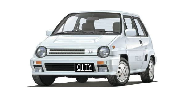 1/24 City Turbo II Bulldog (Model Car) Toy